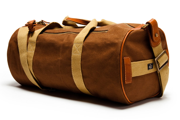The Quality Mending Co. Canvas Duffle