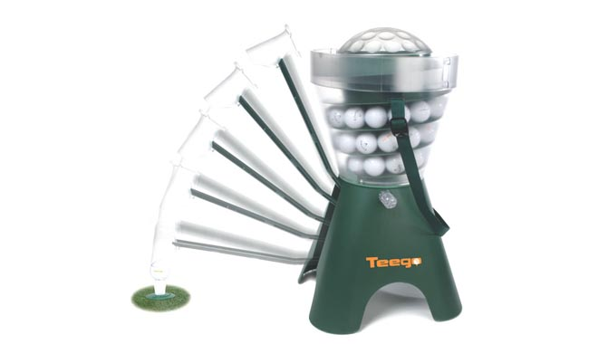 Teego Tee-up Driving Range Robot