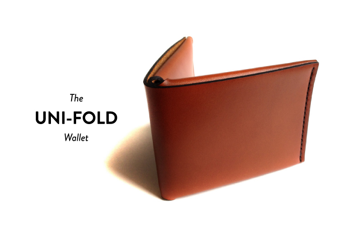 The Uni-fold Wallet by Noah Lambert