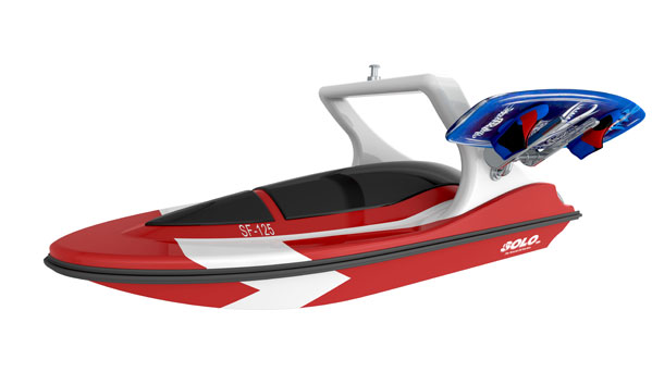 Solo Water Sports Skier Controlled Tow Boat