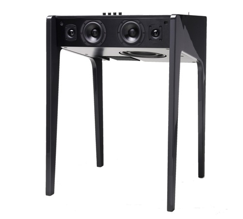 Hi-Fi Soundsystem Laptop Desk