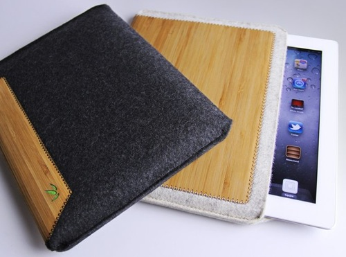 Bamboo iPad Sleeve