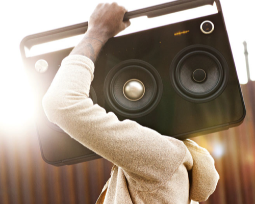 TDK Boombox Audio System